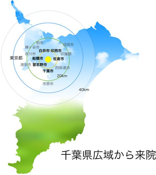 千葉県広域地図